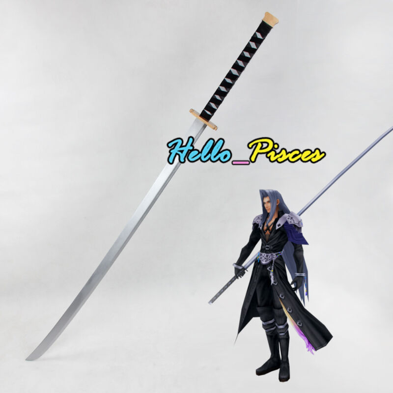 Exclusive Made Final Fantasy Ⅶ Sephiroth Masamune Sword Weapon Cosplay Prop