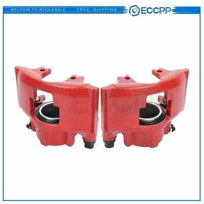 Front Pair Brake Calipers For CHEVROLET EXPRESS TAHOE GMC K10 YUKON DODGE RAM