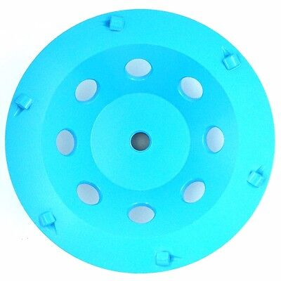 7in Pcd Cup Wheel For Concrete Surface - 5pcs