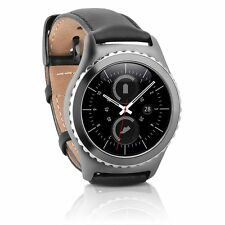 Samsung Gear S2 Classic Water Resistant Wi-Fi Bluetooth 1.2'' Leather SmartWatch