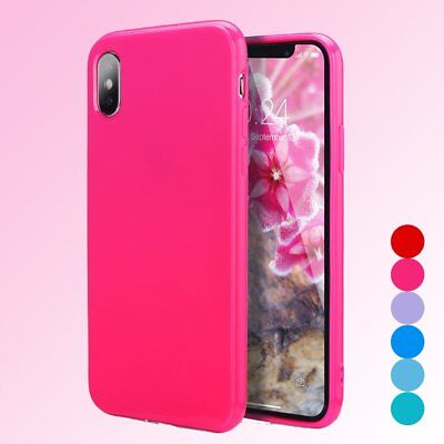 For iPhone X Girly Cute Candy Color Ultra Slim Soft TPU Shockproof Non-Silp Case (Cute Candy)