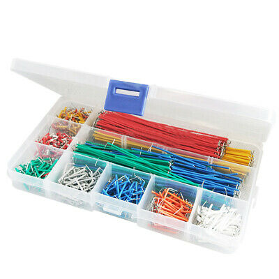 840pcs U Shape Solderless Breadboard Jumper Cable Wire Kit Shield Part Raspberry