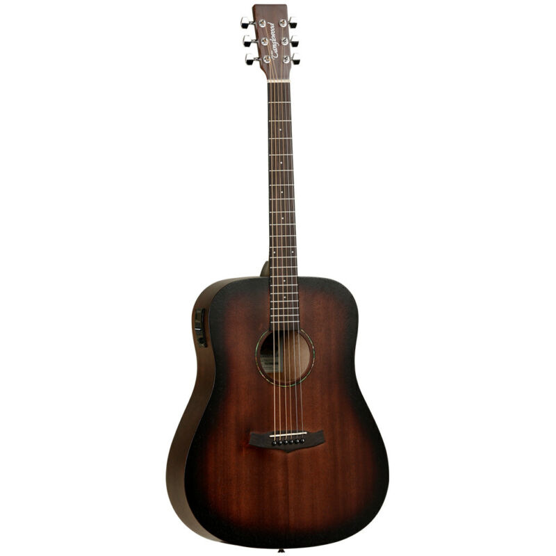 Tanglewood Mahogany Dreadnought Electro Acoustic Guitar Crossroads Series TWCRDE