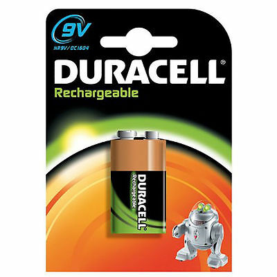 Duracell 9V NiMH Rechargeable Battery