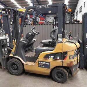 Used 1.8T Cat LPG Forklift GPE18NT Altona Hobsons Bay Area Preview