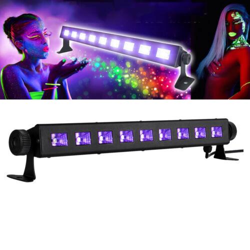 UV BAR 27W LED Schwarzlicht Bühnenbeleuchtung Lichteffekt Disco Wall Wash Lampe