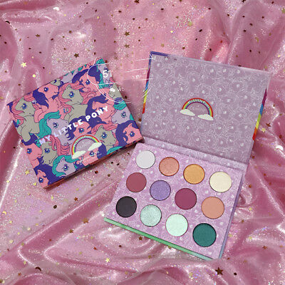 NEW Shimmery Glitters Colorpop x My Little Pony Palette Magical Cutie 12 Shades