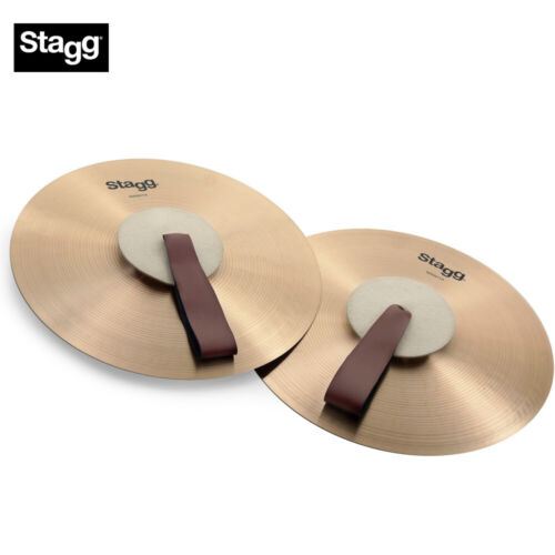 NEW Stagg MASH14 14 Inch Marching/Concert Cymbals - Pair