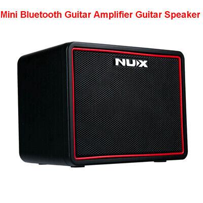 Nux Mighty Lite Bt Mini Bluetooth Desktop Guitar Amplifier Guitar Amp With Drum