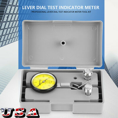 20 Inch Dial Test Indicator 0-0.8mm Level Gauge Scale Dovetail Rails Us