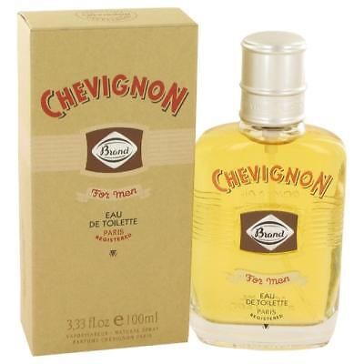 Chevignon Brand for Men Eau de Toilette Spray 100 ml 3.3 fl.oz (Chevignon Eau De Toilette Spray)