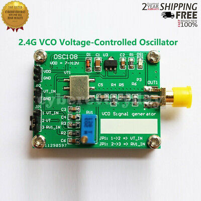 2.4g Rf Microwave Voltage Controlled Oscillator Rf Vco Signal Source For Radios