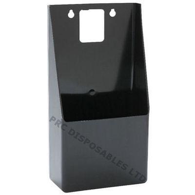 Wall Mounted Bottle Top Catcher Only Black | Pub Bar Beer Cap Holder Plastic