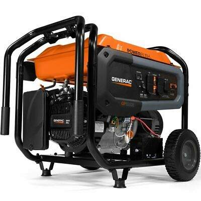 Generac Gp6500e - 6500 Watt Electric Start Portable Generator 49-state