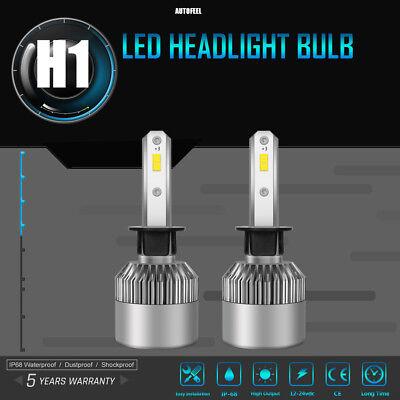 Quattro LED Headlight Kit Protekz H7 6000K 600W Foglight for Audi A6 2005-2008