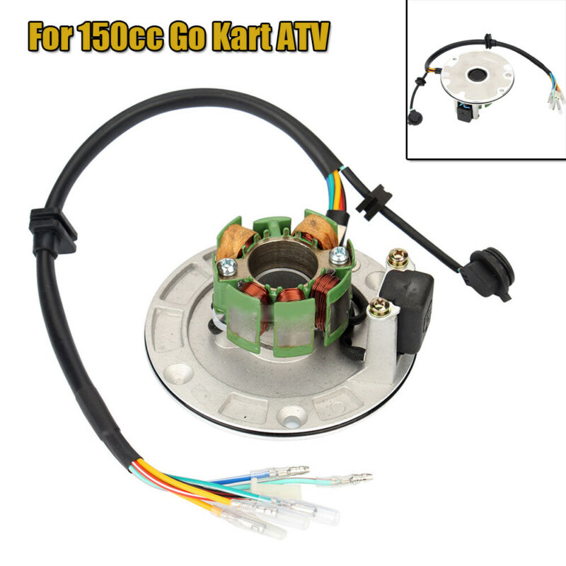 1PC 6 Coil Generator Stator Plate Fit For Off-road Motorcycle ATV 150cc Go Kart
