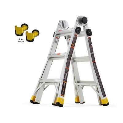 14 Ft. Reach Mpxa Multi-position Laddermpx Wheel Kit Combo-pack