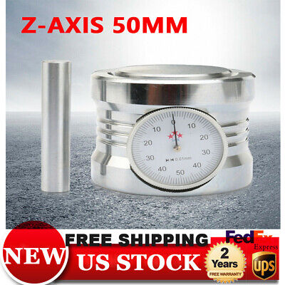 Z Axis Zero Pre-setter Kit Setter For Cnc Router Height 50 Mm 3-year Warranty Us