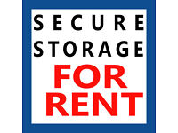 Secure Storage Space to let Birmingham Burntwood Area - Pallets Warehouse etc
