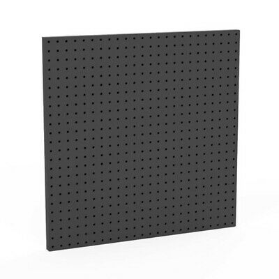 One Sided Pegboard Panel In Black 24 W X 24 H Inches - Case Of 2