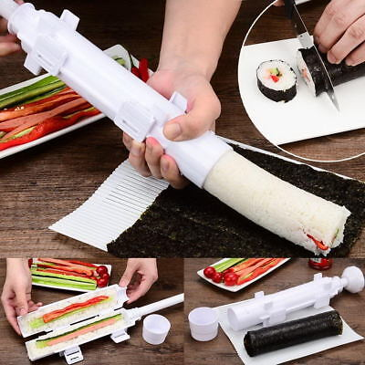 Sushi Bazooka Rice Meat Vegetables DIY Making Kitchen Gadgets Roller Sushi Maker