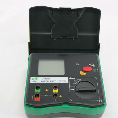 Digital Earth Tester Dy4200 Ground Resistance Tester Meter