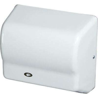 American Dryer Automatic Hand Dryer 120v Steel White Gx1-m