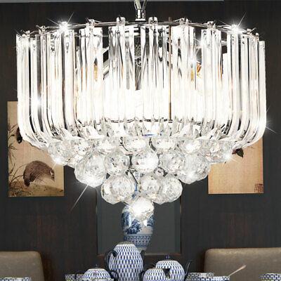 Luxus Decken Pendel Leuchte Ess Zimmer Kronleuchter Kristalle klar Hänge Luster