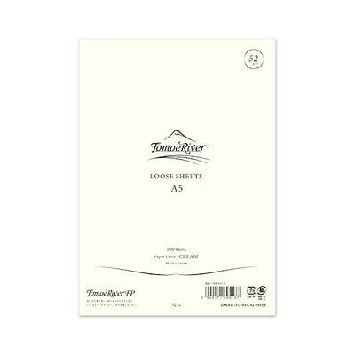 Tomoe River - A5 Loose Sheets - 52gsm - Cream