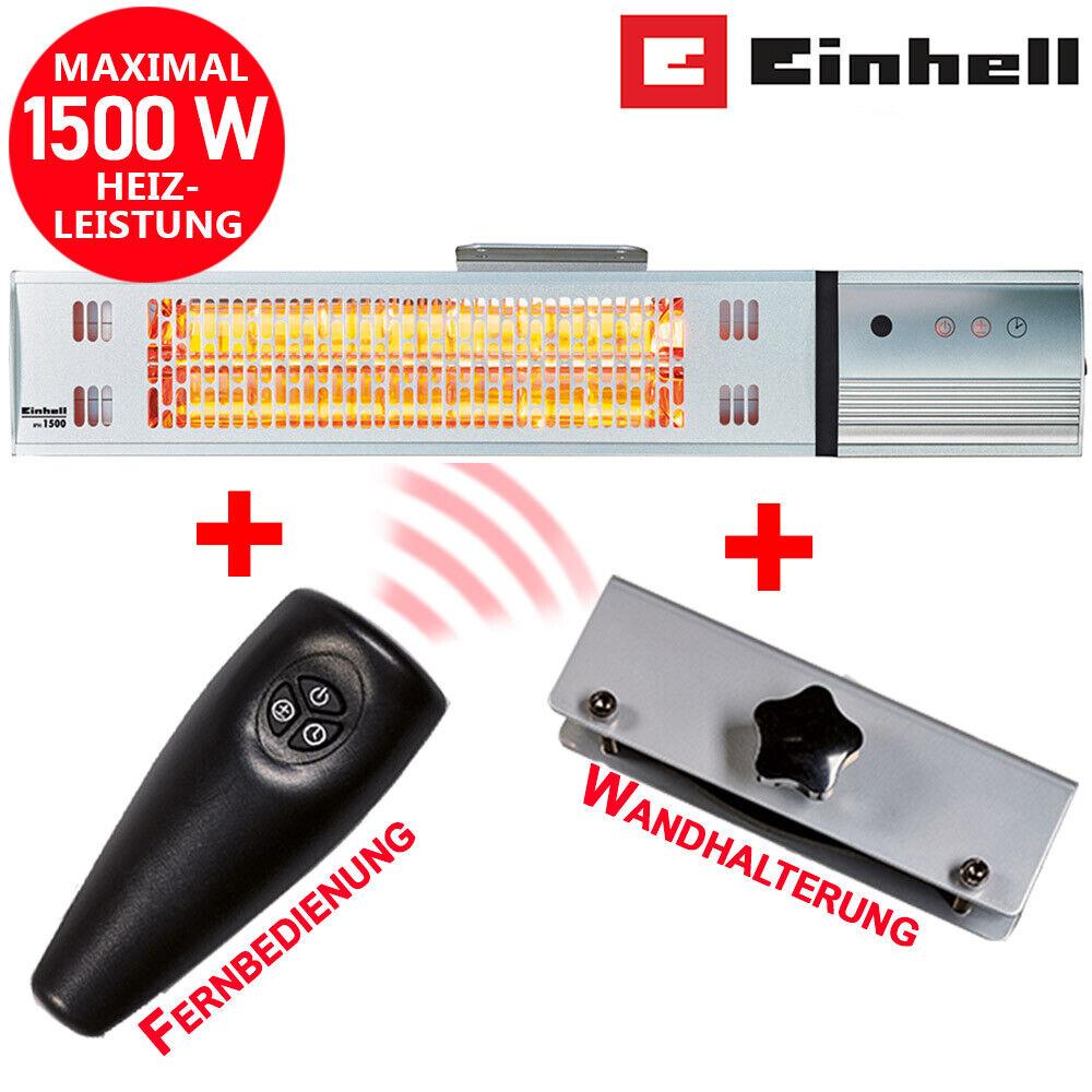 Bluetooth Dunkelstrahler 3200 W Heizstrahler Wandheizstrahler Terrassenstrahler