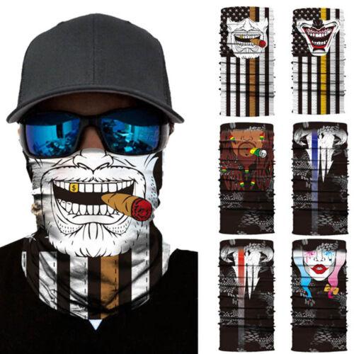 Neutral Outdoor Head Scarf Neck Windproof Face Mask Sunscreen Mask Headband