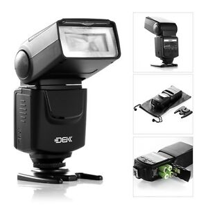 Flash Speedlite For Canon EOS 5D III 6D 7D 60D 400D 450D 550D 600D 1100D Camera
