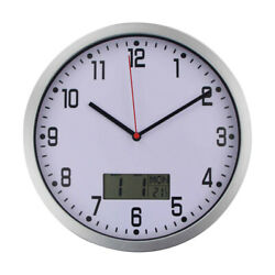 1PC Thermometer Simple Accurate Elegant Quartz Clock for Living Room Office Home