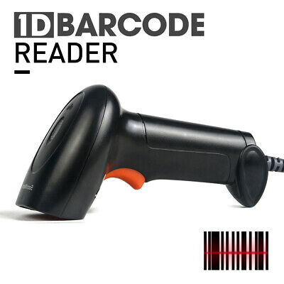 Portable Handheld Usb Port Laser Barcode Scanner Bar Code Reader For Pos Data