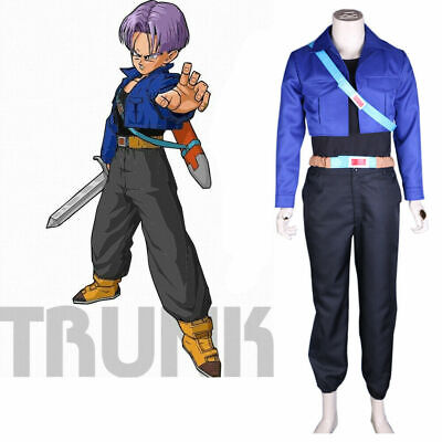 Dragon Ball Trunks Super Saiyan Cosplay Costume Torankusu - Trunks Cosplay Kostüm