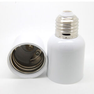 e e27 to e40 socket light bulb lamp holder adapter plug. Black Bedroom Furniture Sets. Home Design Ideas