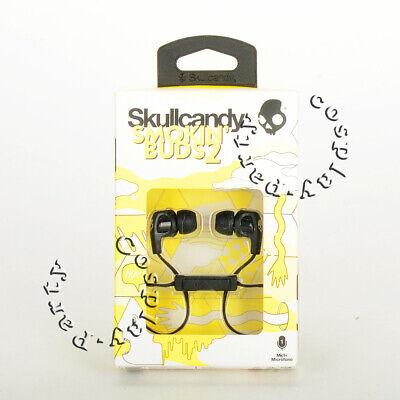 Skullcandy Smokin' Buds 2 In-Ear Headphones Headset Earphones w/Mic - Black