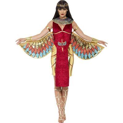 Karneval Vogel Kostüm (Smi - Damen Kostüm Ägypterin Vogel Göttin Karneval Fasching)