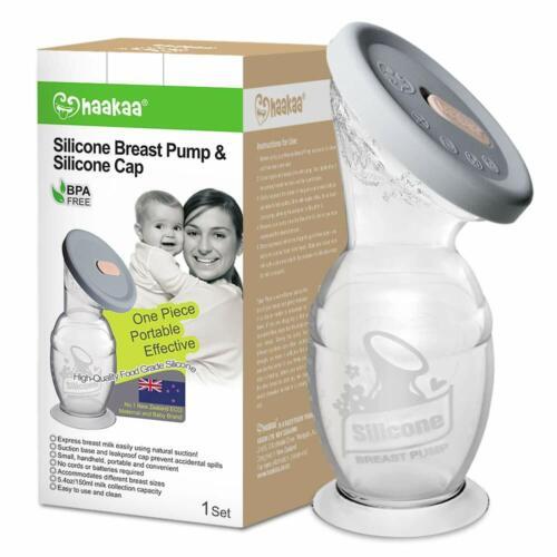 Silicone Breast Pump Manual 5 oz 150 ml BPA Free Haakaa Portable NEW