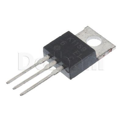 2sk1159 Original Hitachi Power Fet .7ohm Npn Metal-oxide Fet To-220ab