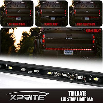 Truck 60 full led tailgate lights barebay 60 led tailgate light bar with turn signal reverse brake light pickup truck bed mozeypictures Choice Image