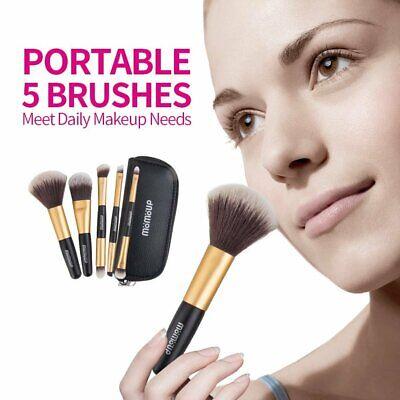USA Travel Make Up Brush Dome Eye Shader Eyeliner&Pouch (Dome Blush Brush)