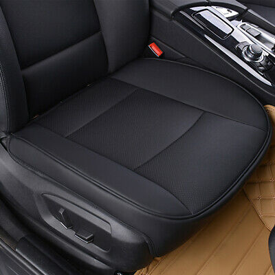 Deluxe Full Surround PU Leather Car Front Seat Cover Breathable Chair Cushion