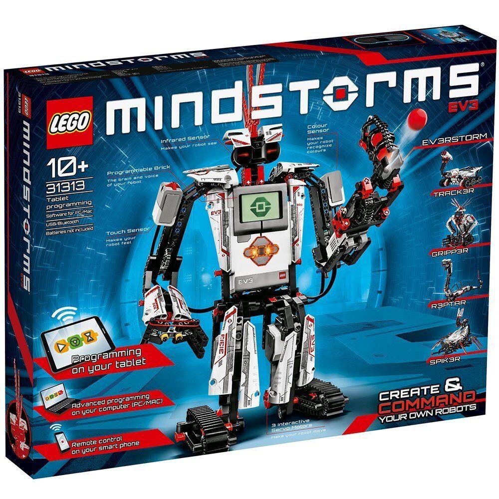 Details about LEGO Mindstorms EV3 Robot Kit 31313 [Building Learning Toys  Tablet Programming]