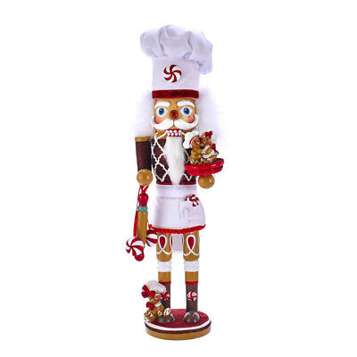 [Kurt Adler Hollywood Nutcracker - Gingerbread Chef Christmas Nutcracker 15.5 NEW</Title]