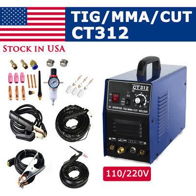 Ct312 3in1 Welding Machine Tigmmaplasma Cutter Welder Torches Accessories
