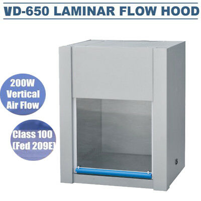 Vd 650 110v Ac Laminar Flow Hood Single Sided Medicine Instrument Pharmacy 200w
