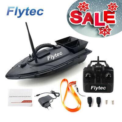 Flytec 2011-5 RC Futterboot Fisch Finder 500m Fernbedienung Fischköder Baitboat