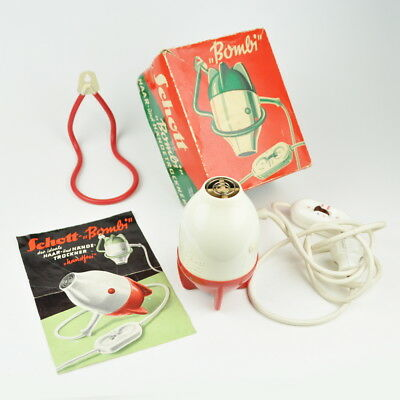 Schott Bombi - alter Haartrockner - Händetrockner - Vintage - Bombe - Hairdryer