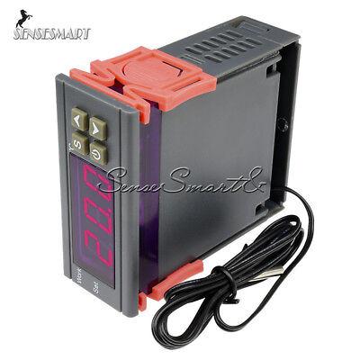 10a Digital Temperature Controller Thermostat 90250v 110-220v Mh1210w Wsensor